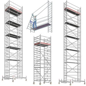 Rollgerüste / mobile Arbeitsbühnen