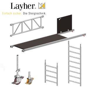 Layher Einzelteile für Rollgerüste (Baukasten)
