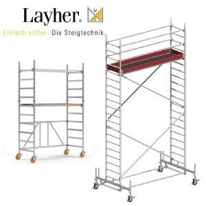 Layher Fahrgerüst (DIN 1004:2005-03) Mindestanforderung