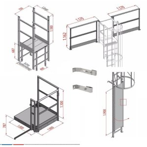Steigleiter-Baukastensystem