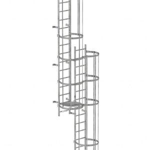 Mehrzügige Steigleitern, ab 10m Steighöhe