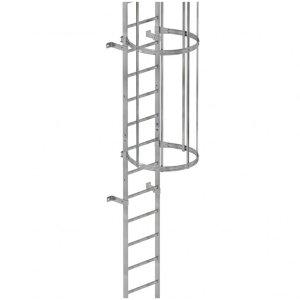 einzügige Steigleitern, bis 10m Steighöhe