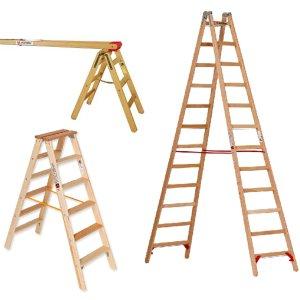 Maler-Leitern und Böcke