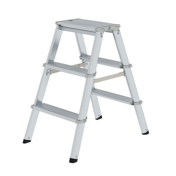 ML Stufen-Stehleiter beidseitig begehbar