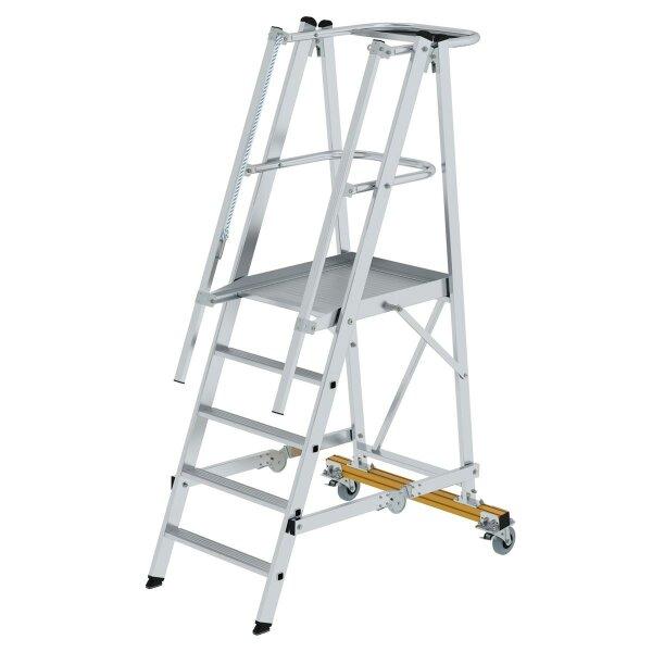Plattformleiter klappbar und fahrbar