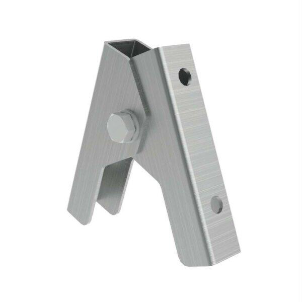 Scharnier für Aluminium-Sprossen-Stehleiter