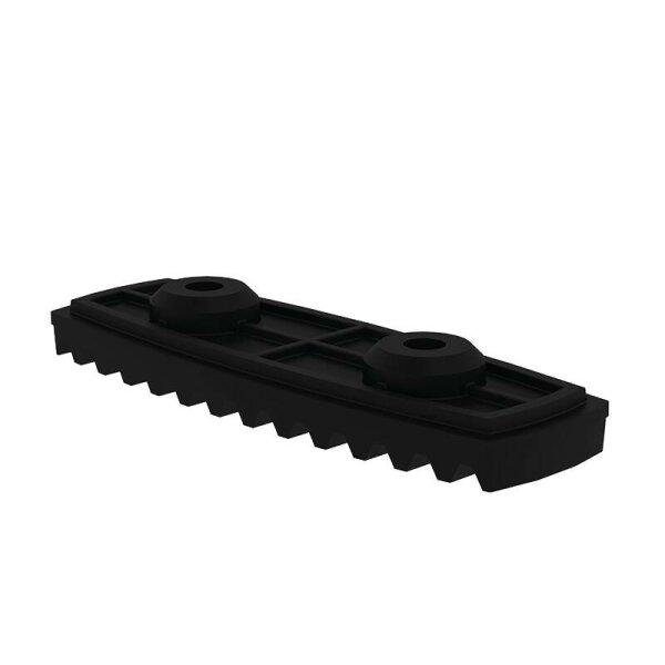 nivello-Fußplatte elektrisch ableitfähig für Holmhöhe 58/73 mm