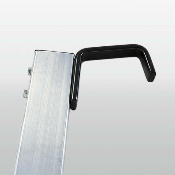 Haken für Spezialleiter, abgewinkelt bis 100 mm