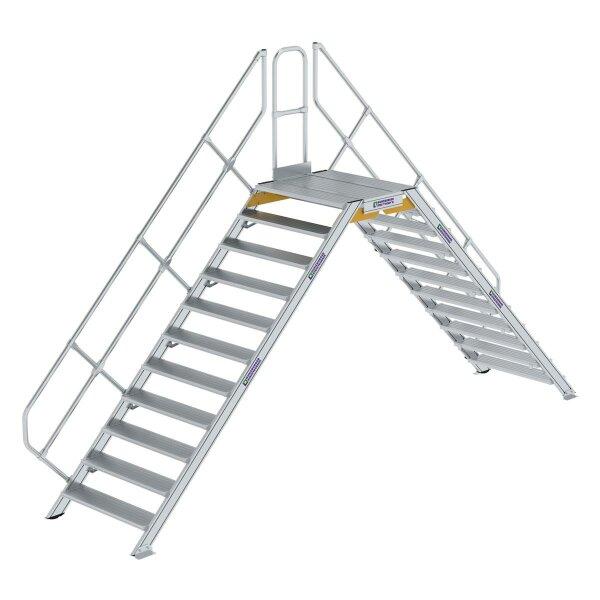 Überstieg 45° Stufenbreite 1000 mm 11 Stufen