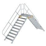 Überstieg 45° Stufenbreite 1000 mm 10 Stufen