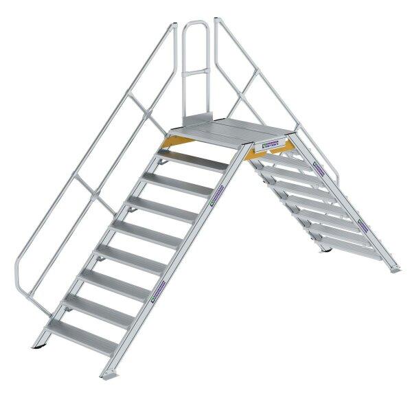 Überstieg 45° Stufenbreite 1000 mm 9 Stufen