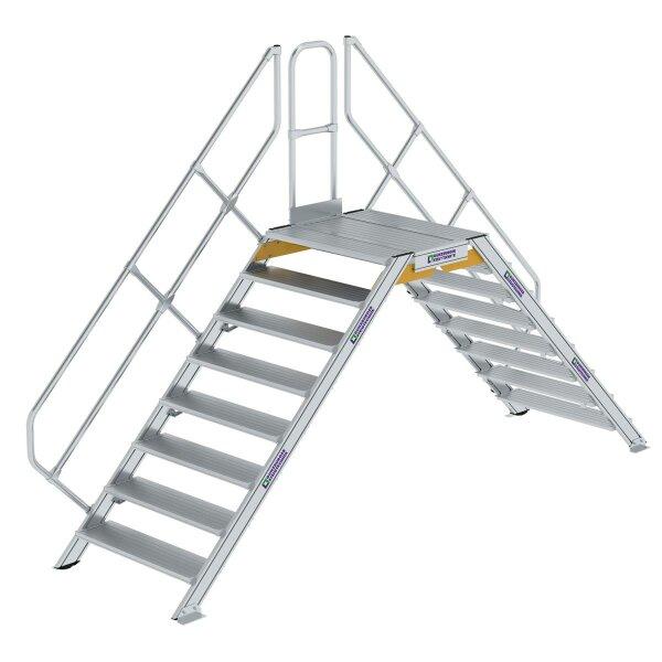 Überstieg 45° Stufenbreite 1000 mm 8 Stufen