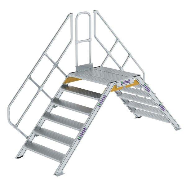 Überstieg 45° Stufenbreite 1000 mm 6 Stufen