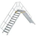 Überstieg 45° Stufenbreite 800 mm 11 Stufen