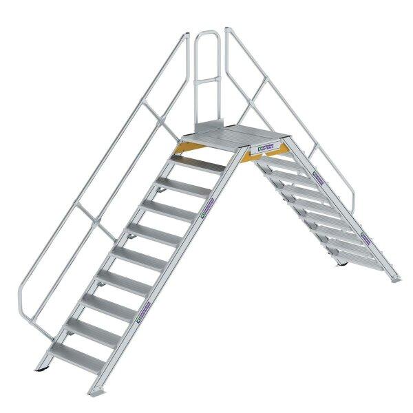 Überstieg 45° Stufenbreite 800 mm 10 Stufen