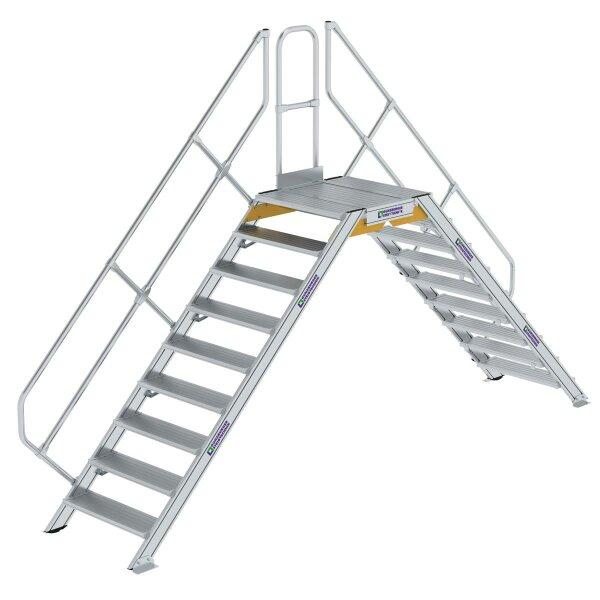 Überstieg 45° Stufenbreite 800 mm 9 Stufen