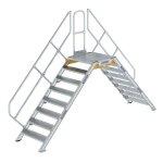 Überstieg 45° Stufenbreite 800 mm 8 Stufen