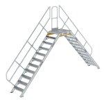 Überstieg 45° Stufenbreite 600 mm 11 Stufen