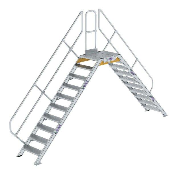Überstieg 45° Stufenbreite 600 mm 10 Stufen
