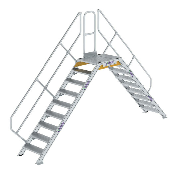 Überstieg 45° Stufenbreite 600 mm 9 Stufen