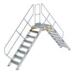 Überstieg 45° Stufenbreite 600 mm 8 Stufen
