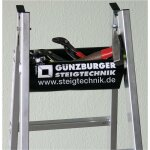 Werkzeugablage für Sprossen-Stehleiter