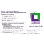 Kennzeichnungsschild für Steigschutzeinrichtung f....