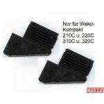 2 WAKÜ - Kunststoff-Füsse/hinten(Compact)