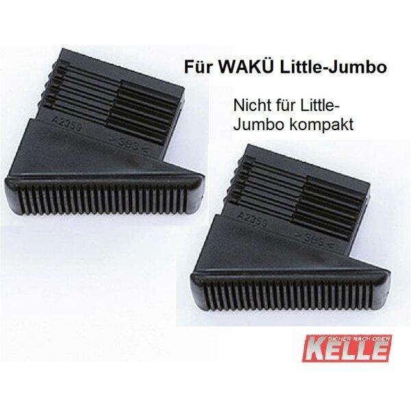 2 WAKÜ - Kunststoff-Füsse/hinten (Little Jumbo)