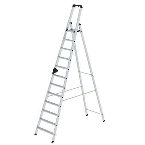 Stufen-Stehleiter einseitig begehbar  12 Stufen