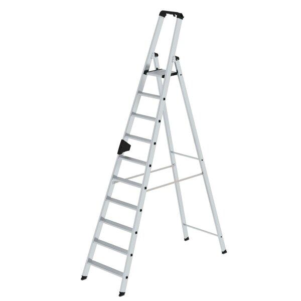 Stufen-Stehleiter einseitig begehbar 10 Stufen