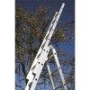 WAKÜ 102 - Teleskopleiter 4-teilig, 4x5 Sprossen (1,57m - 5,30m)